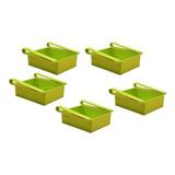 Pack 5 Organizadores Para Refrigerador De Plástico