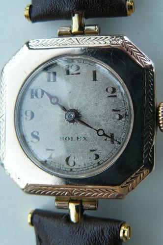 cff0afa1945a Reloj Rolex Antiguo Oro Solido Suizo Cuerda Año1922