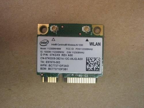 Tarjeta Wifi + Bluetooth Dell Vostro 3450 3550 3750 Half