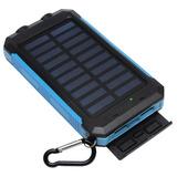 Bateria Externa Powerbank Solar 8000 Mah Certificada - Hitec
