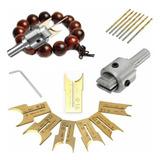 Patrón De Madera Beads Maker Perlas Broca Broca Fresadora S