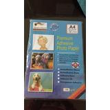 Papel Adhesivo Glossy A4 135 Grs 50 Hojas