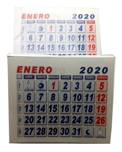 Taco Calendario Mini 100 Unidades