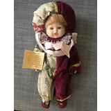 Muñeca De Porcelana Italiana