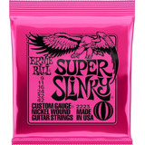 Set De Cuerdas Guitarra Eléctrica 009 Ernie Ball 2223 Super