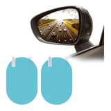 Kit Par Lamina Espejo Retrovisor Anti Lluvia Impermeable