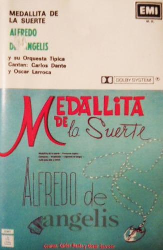 Cassette Tangos Alfredo De Angelis Medallita