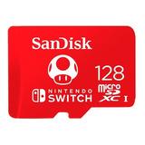 Micro Sd 128 Gb Sandisk Nintendo Switch