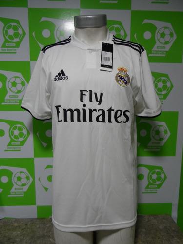 Camiseta Real Madrid 2018-2019 Titular adidas Nueva Original 717fd13fa11dd