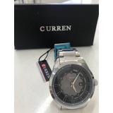 Reloj Hombre Curren 8083 Con Calendario Y Correa De Acero