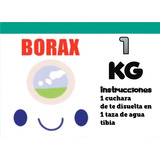 Borax Para Slime 1kg Bujar Insumos Slime