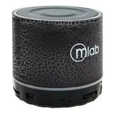 Parlante Bluetooth Microlab Mini Cilindro
