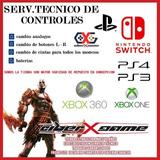 Servicio Tecnico Consolas Y Cotroles Ps3-ps4-switch -xbox