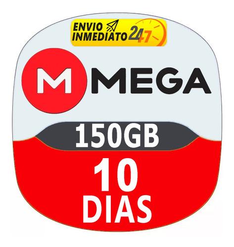 Cuentas Premium Mega 10 Dias Oficial 150gb Envio Inmeditato