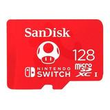 Tarjeta Memoria Microsd Sandisk 128gb Nintendo Switch