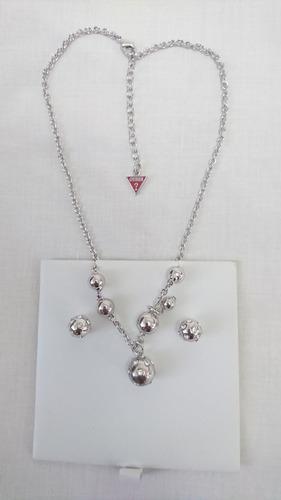 3fc5a83915f8 Joyas Guees Para Mujer Collar Con Pendientes De Metal