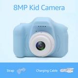 8mp Niños Niños Cámara Digital 1080p Vídeo Videocámara