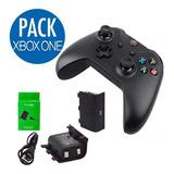 Pack Control Xbox One Generico + Bateria Recargable| Maxtech