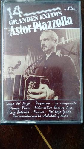 Caset Astor Piazzolla 14 Grandes Exitos
