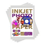 Papel Fotografico 50 Hojas Para Cds Dvds 100 Unidades