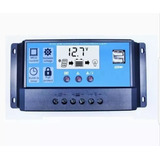 Regulador De Voltaje 12-24v 10a Solar Digital