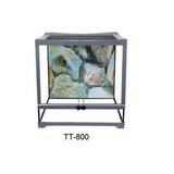 Terrario Tt803 30x30cm Para Mascotas Dophin Pethome Chile