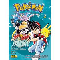 Pokemon 02 Rojo,verde Y Azul -manga