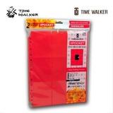 Hojas Timewalker Coleccionadoras 9 Espacios Roja
