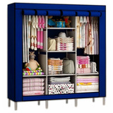 Closet Ropero Armable Grande Transportable Tela / 88130