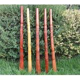 Didgeridoo Tallado Grueso Stock Oferta!