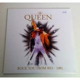 Vinilo Queen - Rock You From Rio 1985 - Envío Gratis