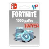 Fortnite 1000 Pavos Digital - Nintendo Switch - Prepagochile