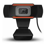 Cámara Webcam Hd Usb Con Micrófono Para Videoconferencias