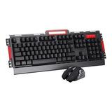 Combo Kit Gamer Teclado Y Mouse Inalambrico Hk50 - Prophone