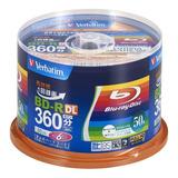 Verbatim Blu-ray 50gb 6x Bd-r Dl, Bulk De 50 Discos Sellado.