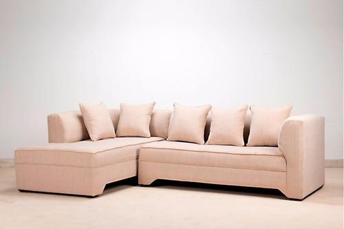 Living modular seccional izquierdo chenille beige en venta - Cambiar relleno sofa ...