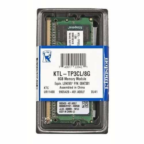Memoria Para Notebook Ddr3 1600 8gb Kingston