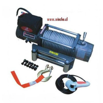 Winche Electrico 12.000 Libras 12 Volts Marca Kun Winch