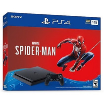 Consola Ps4 Slim 1tb Spiderman / 12 Cuotas / Iprotech