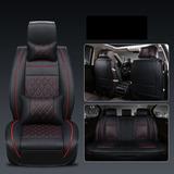 Kit Funda Cubre Asiento Auto Premium Luxury Con 4 Almoadilla