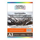 Papel Foto Brillante Doble Cara Nobucolor A3 160 Gr. 50 Hoja
