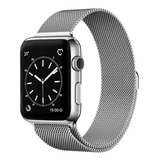 Correa Apple Watch Acero Inoxidable Magnética 38/40/42/44 Mm