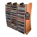 Mueble Porta Cds Full Madera Calidad Rack Discos Audio