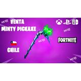 Picota Minty Pickaxe Para Fortnite Chile  -tienda Nicerchile