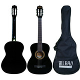 Guitarra Acústica Bilbao 3/4 Bil-34-bk + Envío Gratis
