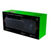 Kit Gamer Razer Level Up Bundle Teclado Mouse Teclado Pad