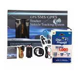 Gps Tracker Coban Homologado Rastreo 103a + 1 Chip Regalo