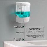 Dispensador Automático De Jabón Liquido Y Alcohol Gel
