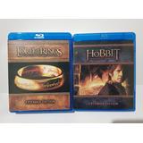 El Señor De Los Anillos Y El Hobbit Trilogy Extendida Bluray