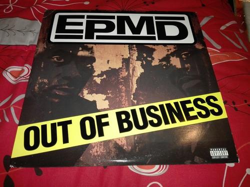 Epmd - Out Of Business Vinilo Rap Hip Hop 1ra Edicion